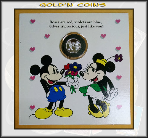 Tenth Ounce Silver Disney Collector Coin Yours Forever