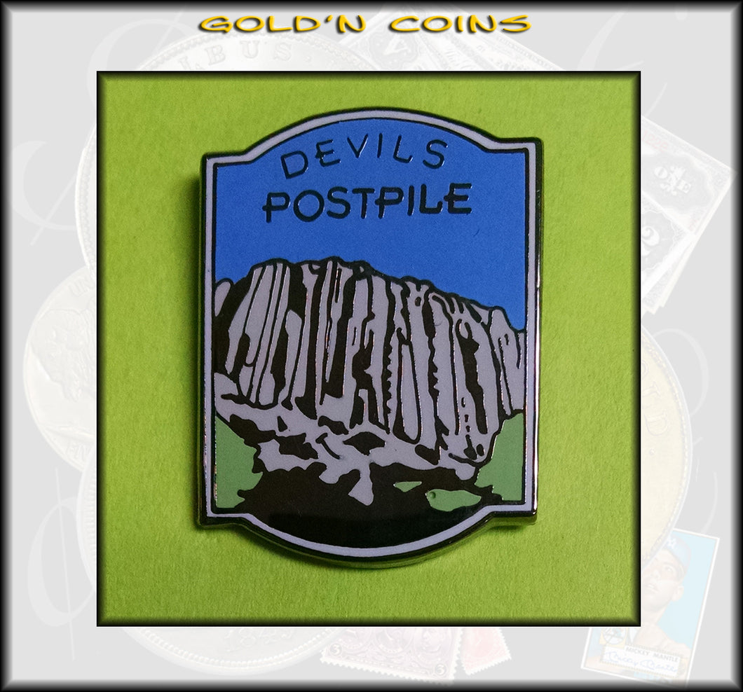Devils Postpile National Monument Lapel/Collector Pin