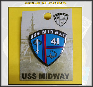 USS Midway Lapel/Collector Pin