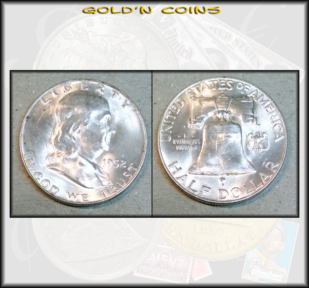 1952-D Franklin Half Dollar Uncirculated