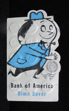 "VINTAGE BANK OF AMERICA ""DIME SAVER"" BOOKLET WITH THIRTY 90% SILVER DIMES"