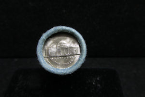 1958-D JEFFERSON NICKEL BANK WRAPPED ROLL