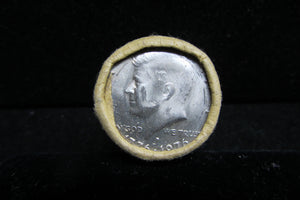 1976-D KENNEDY HALF DOLLARS BANK WRAPPED ROLL OF TWENTY COINS