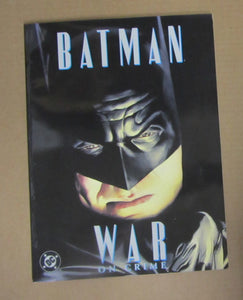 "BAT MAN ""WAR ON CRIME"" COMIC MAGAZINE BY ROSS AND DINI - GREAT CONDITION"