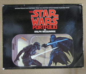 THE STAR WARS PORTFOLIO BY RALPH McQUARRIE - PRODUCTION PAINTINGS