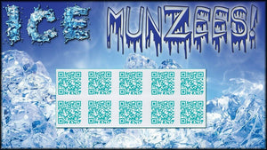 Ice Munzee Stickers - 10-Pack