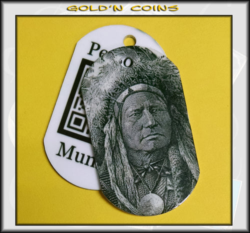 The Chief Personal Munzee Dog Tag