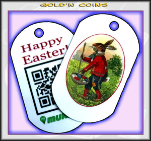 Happy Easter! Personal Munzee Dog Tag