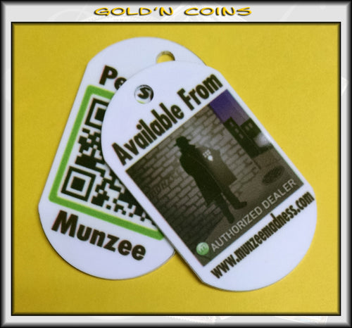 Personal Munzee Dog Tag - Original Style