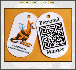 WallaBee Personal Munzee Dog Tag