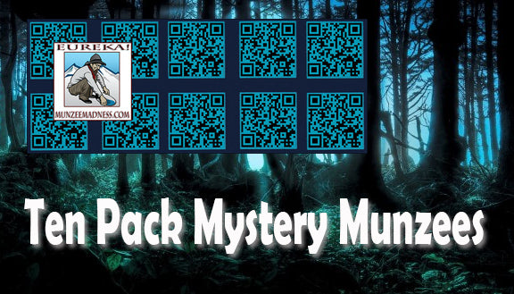 The Famous MYSTERY Munzee - 10 Pack