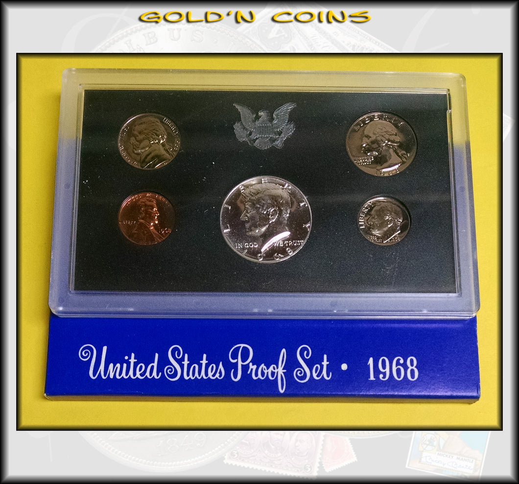 1968-S United States Proof Set