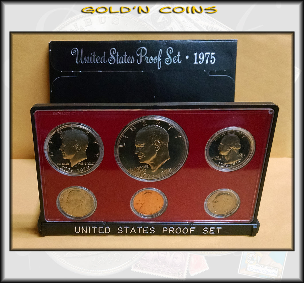 1975-S United States Proof Set Bicentennial Coins