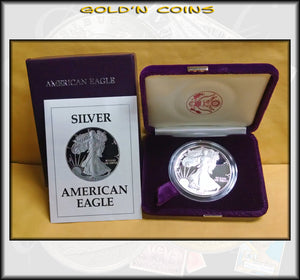 1987 Proof Silver Eagle in Original Government Packaging