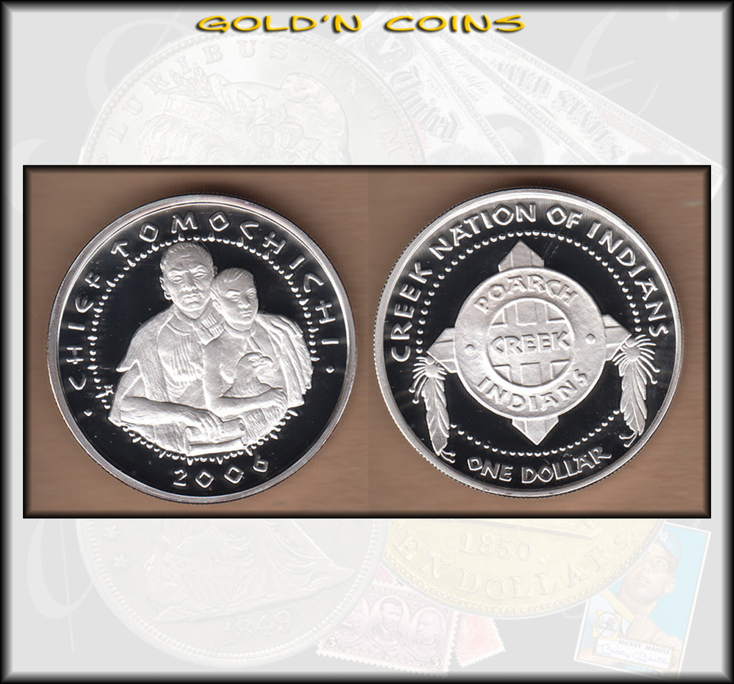 2006 Poarch Creek Nation Tomochichi - Proof