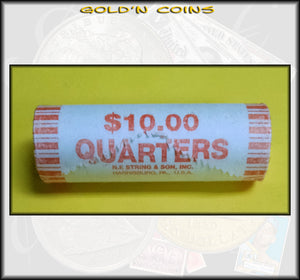 2002-P Tennessee State Quarter Roll (40 coins) - Uncirculated