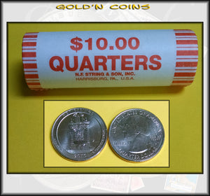 2010-P Hot Springs National Park Uncirculated Quarter Roll (40 Coins)