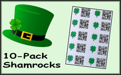 Shamrock Munzees - 10-Pack