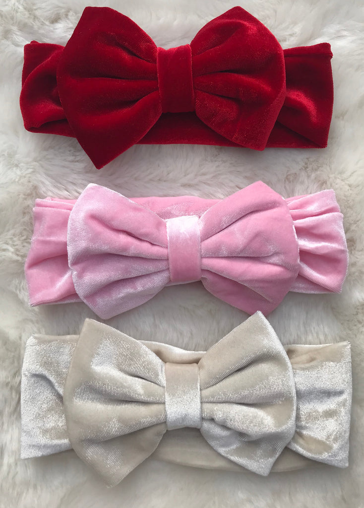 Baby Girl Big Bow Headband
