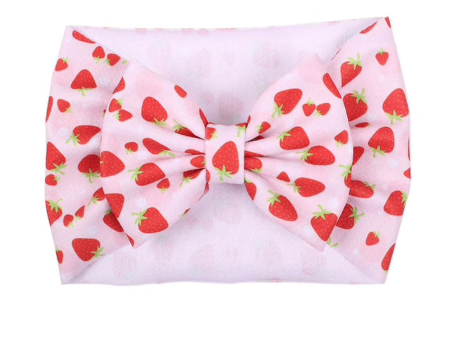 Strawberry HeadWrap