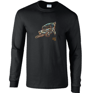 Neon DJ : Cotton Long Sleeve T