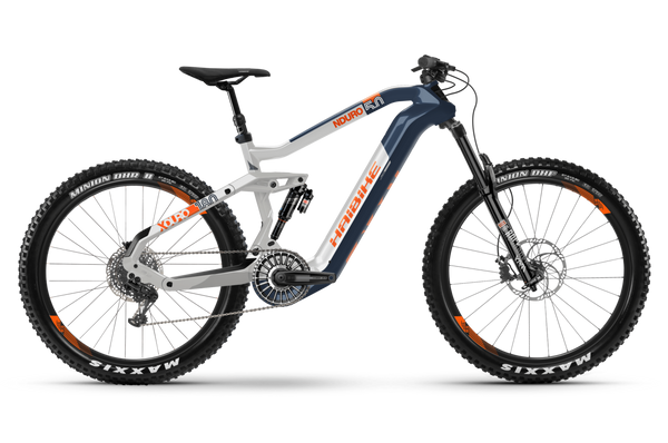 2020 Haibike Xduro Nduro 5.0 Flyon Full Suspension Electric MTB 630Wh