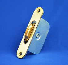 "Sash Pulley - 2 1/4""diam brass wheel with ball bearings"