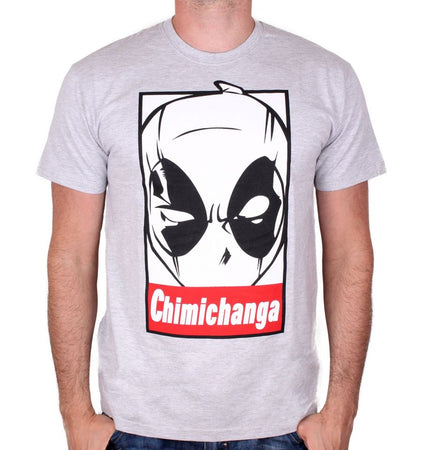 T-shirt Deadpool Marvel - Chimichanga