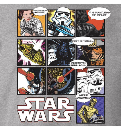 T-Shirt Star Wars - Comic Strip