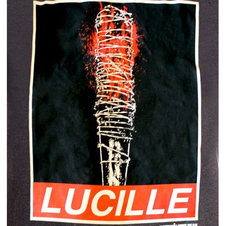 Tshirt The Walking Dead - Lucille Obey Rules