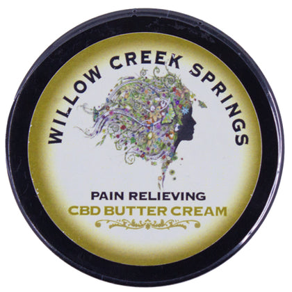 Willow Creek Springs: Pain Relieving CBD Butter Cream