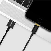 Load image into Gallery viewer, FLOVEME Magnetic USB Charging Cable 1m Micro USB Type-C Lightning for iPhone Huawei Xiaomi Samsung-Chargers & Cables-Black-hykis.com