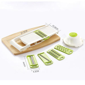 5 in 1 Vegetable Cutter Food Chopper-Kitchen Tools & Utensils-romancci.com-Romancci