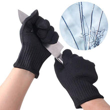 Load image into Gallery viewer, Safety Gloves Cut-Resistant Stainless Steel Wire Anti-Cutting Gloves Protective Hand Finger Gloves