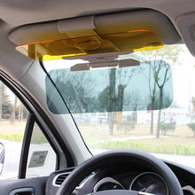 Load image into Gallery viewer, 2018 New Car Day and Night Visor 2 in 1 Automobile Sun Anti-UV Block Visor Non Glare Anti-Dazzle Sunshade Mirror Gog