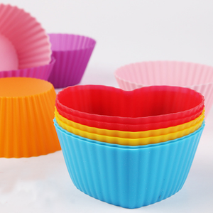 Reusable Silicone Baking Cups Cake Cups-Kitchen & Dining-skrstar.com-2-
