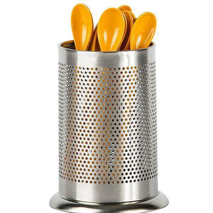Stainless Steel Utensil Holder-Kitchen & Household-skrstar.com-