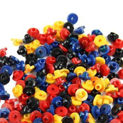 Top Hat Tattoo Grommets x 100 - MickyBee tattoo supplies
