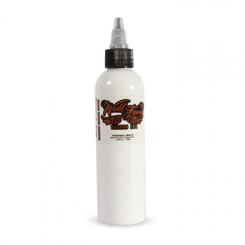 World Famous Ink Portrait White 120ml (4oz)
