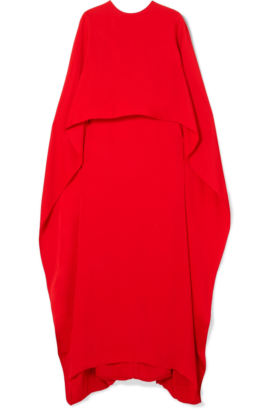 STELLA MCCARTNEY Layered crepe gown