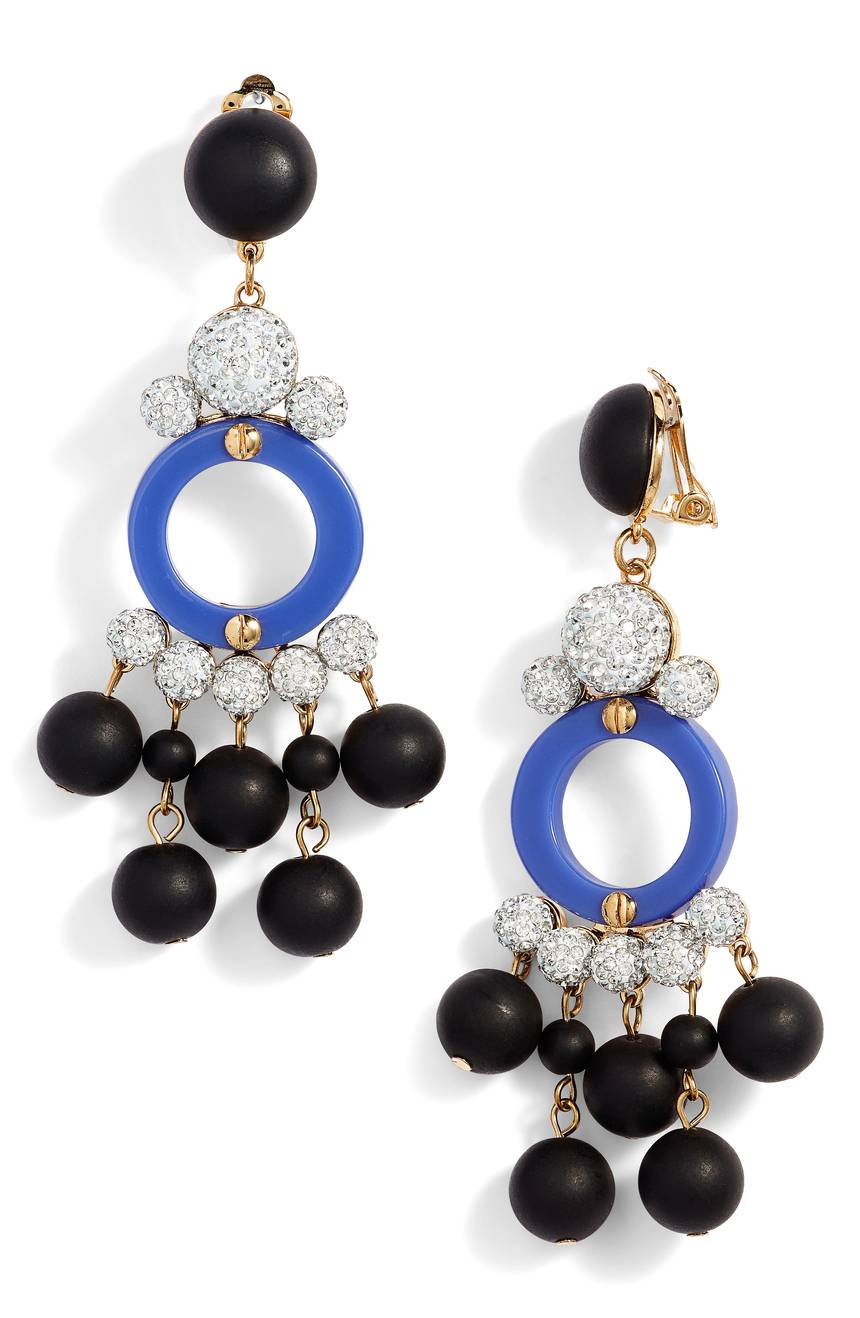 Boulevard Clip Drop Earrings LELE SADOUGHI