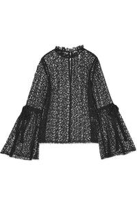 ALICE MCCALL Just Lust crocheted lace top