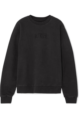 KITH-Crosby cotton-fleece sweatshirt