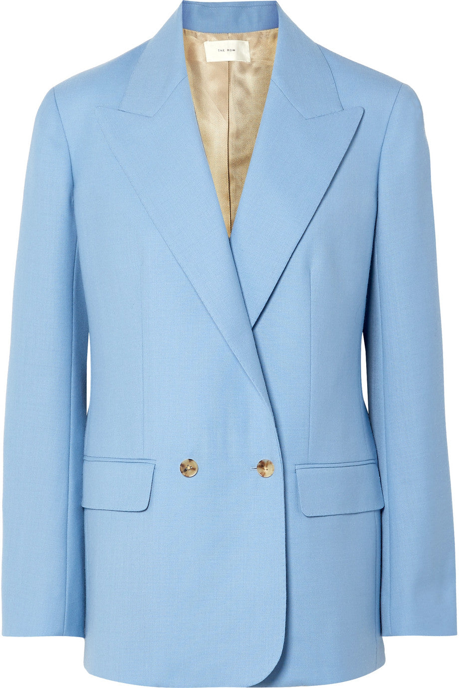 THE ROW- Pesner oversized grain de poudre wool blazer