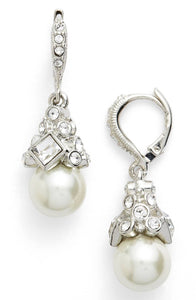 GIVENCHY Imitation Pearl Drop Earrings Jewelry