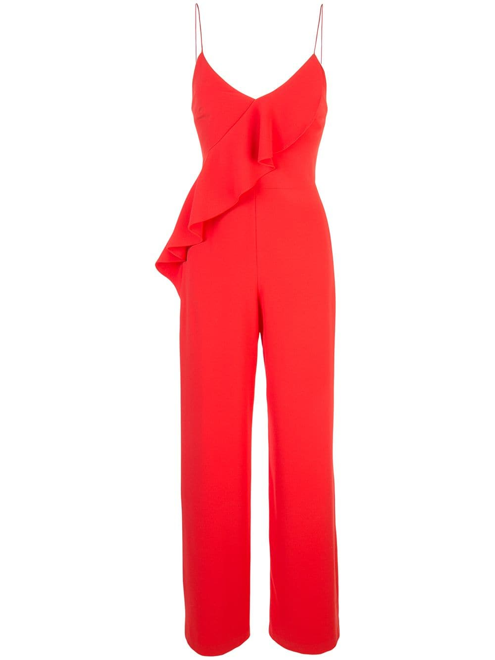 ALICE+OLIVIA Keeva ruffled jumpsuit