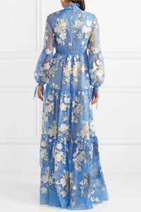 ERDEM-Cassandra ruffled embroidered silk-organza gown$4,640