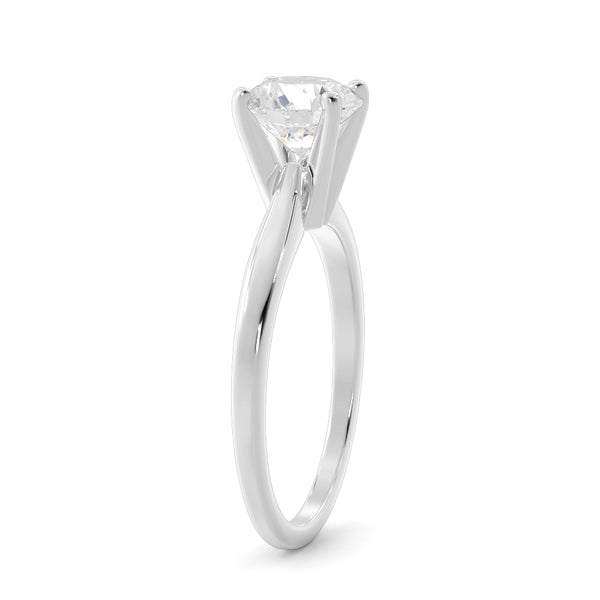 14k Gold 1/2ct Lab-Grown Diamond Solitaire Engagement Ring