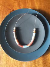 Load image into Gallery viewer, Autumn Neutrals Tube Necklace