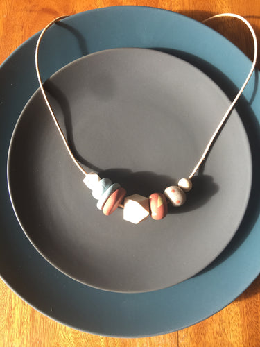 Autumn Neutrals Necklace